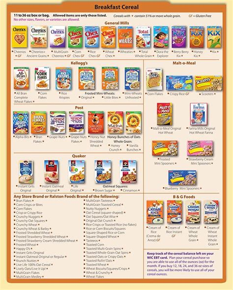 whole grains wic florida florida wic food list
