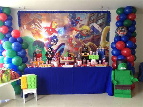 decorar globos superheroes market place decoraci 243 n fiesta lego avengers fiesta