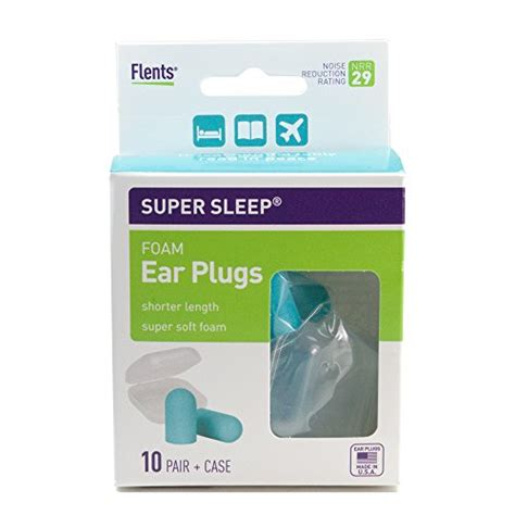 Ear Plugs For Side Sleepers new sleep comfort foam ear plugs 10 pair carrying special length for sleeping on