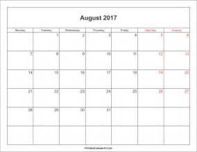 Calendar 2018 Template Malaysia August 2017 Calendar Malaysia Printable Template With Holidays
