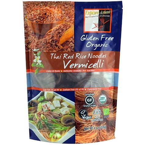 Organic Brown Rice Vermicelli thai rice vermicelli noodles ceres organic food