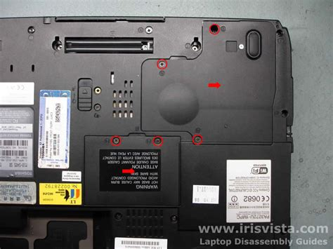 toshiba satellite pro m10 m15 disassembly guide