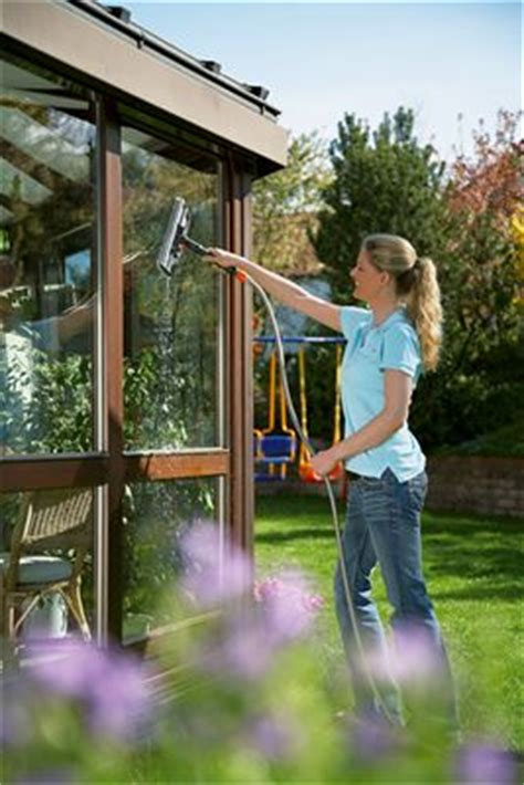 Garden Hose Window Cleaner Tergivetro Con Spatola Cleansystem
