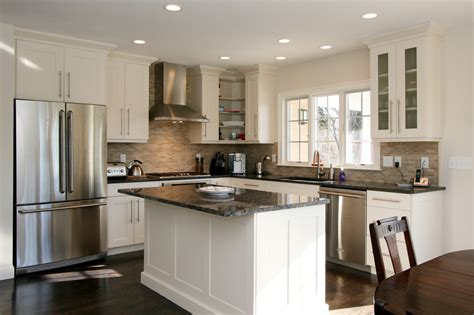 Achieve Classier Looks Through Inclusion Of Kitchen Ideas Granite Countertops Kitchen And Decor White Kitchen Island Ideas Kitchen And Decor
