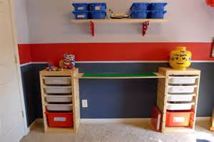Built In Bookcase With Desk Diy Lego Table Easy Hints And Tips