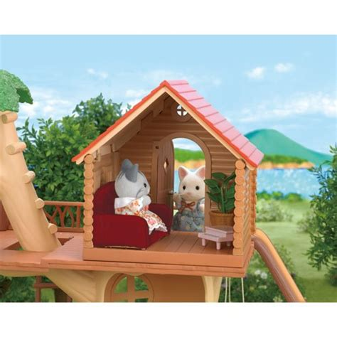 calico critters tree house calico critters adventure tree house playset educational toys planet