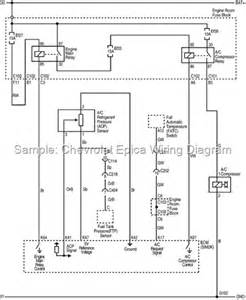 2008 chevrolet epica wiring diagram electrical system