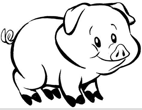 imagenes de animales omnivoros para colorear cerdo 1 animales omnivoros
