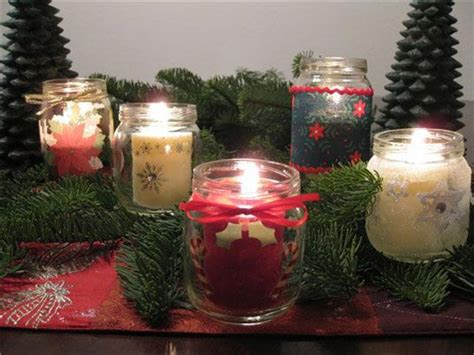 crafts with baby food jars for christmas baby food jar votives baby food jar crafts jars votive candle