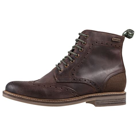 barbour mens boots barbour belsay mfo0184br95 mens boots in chocolate