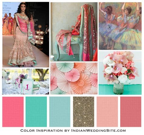 42 best indian wedding color palettes images on