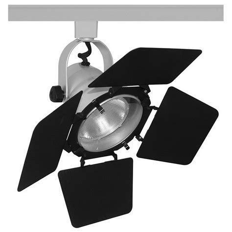 Juno Lighting T292sl Trac Master 174 Halogen Studio Ii With Stage Lighting Barn Doors