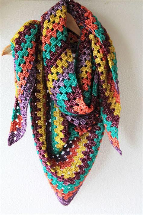 simple shawl allfreecrochet