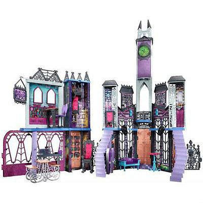 monster high school house monster high deadluxe high school play set doll house creepy furniture party kid
