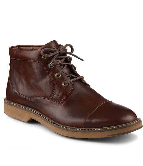 sperry boots mens sperry 180 s commander chukka boots dillards