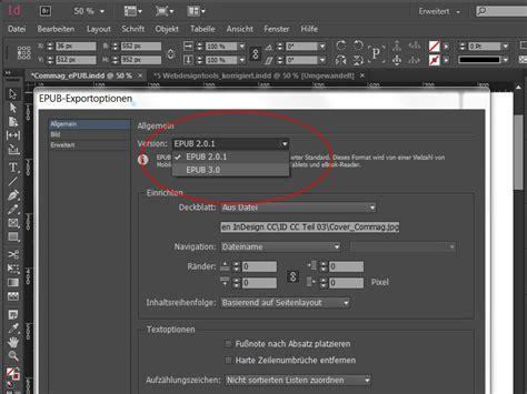 epub format tutorial indesign cc 2015 epub neues in adobe indesign cc
