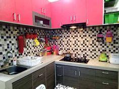 Fashion Kitchen Koper Dapur Mini 296 model kitchen set l mini untuk dapur mungil 4 lantai keramik dan dinding warna kuning ideas