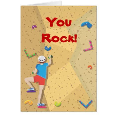 Climbing Birthday Card Rock Climbing Cards Rock Climbing Card Templates Postage