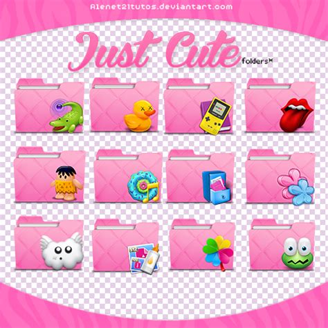 pink pack live for win xp themes for pc just cute folders by alenet21tutos on deviantart