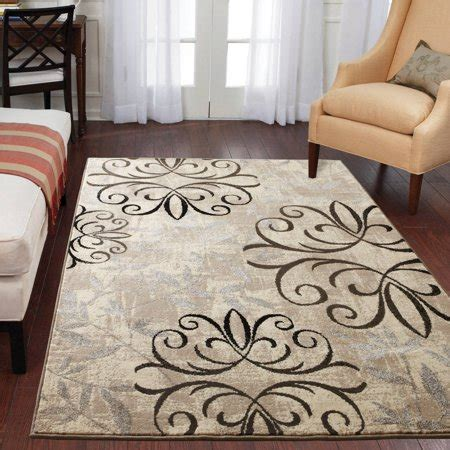 Better Homes And Gardens Iron Fleur Area Rug by Better Homes And Gardens Iron Fleur Area Rug Available In