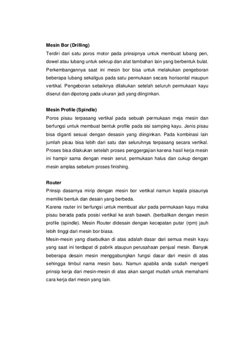 Mesin Bor Horisontal pengetahuan mesin dasar industri kayu