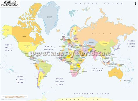 printable a4 world map showing countries free world map images
