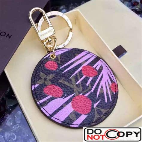louis vuitton monogram canvas bag charm key holder