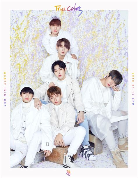 true colors album teaser jbj quot true colors quot album spoiler kpopmap