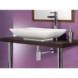 siphon triangular design pour lavabo vasque
