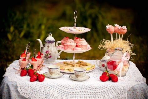 Garden Table Setting Ideas Tea Ideas For And Adults Themes Decoration