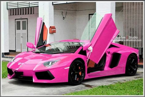 white girly cars pink lamborghini girly cars for female drivers love