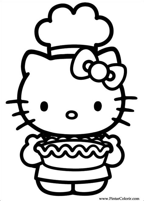 imprimir dibujos dibujos de hello kitty para imprimir drawings to paint colour hello kitty print design 041