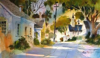 watercolor painting tony favorite artists
