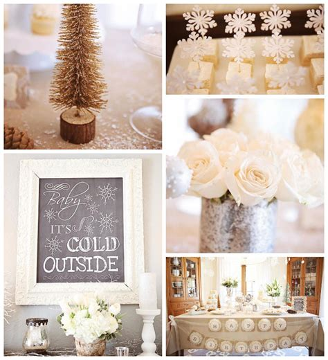 cute winter themes kara s party ideas baby it s cold outside winter