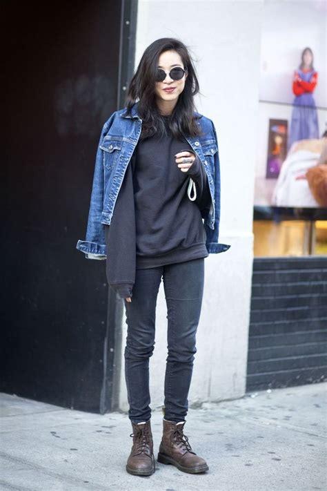 asian awesome city clothes denim denim jacket