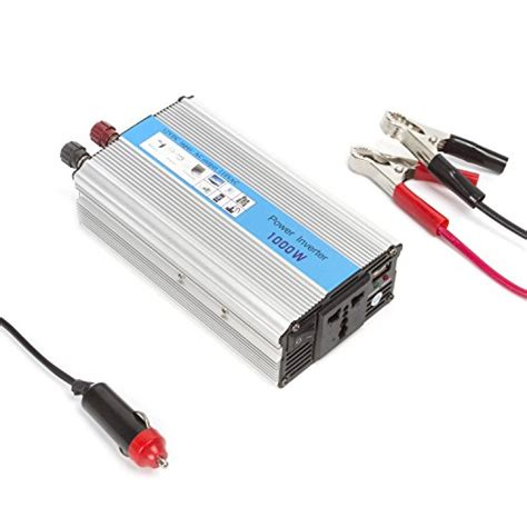 Promo Terbaru Power Inverter 1000w Dc 12v To Ac 220v 1000 Watt autvivid 1000w power inverter car dc 12v to 110v ac inverter dc adapter with battery cls usb