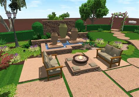 Backyard Landscaping Software by Yardbusters Featured Yard Arnold Design Yard Ideas