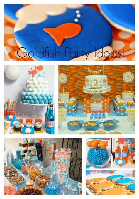 goldfish themes goldfish party ideas b lovely events