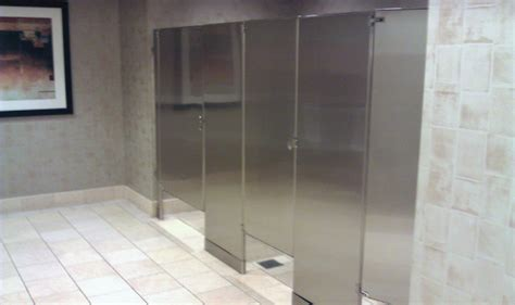 stainless steel bathroom partitions stainless restroom partitions allied stainlessallied