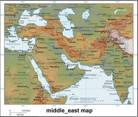 middle east city map map of middle east countries lawas