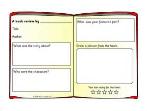 Book Review Template by Sle Book Review Template 10 Free Documents In Pdf Word
