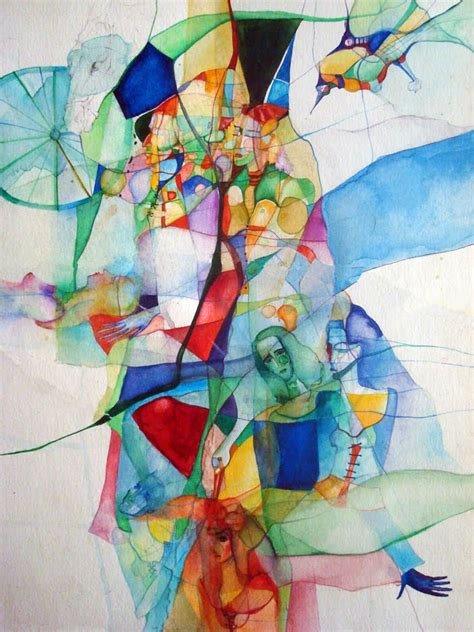 vassia theatermusic inspired watercolor paintings