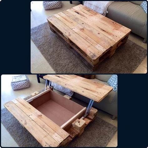 9 diy coffee table projects with clever and gorgeous 15 unique reclaimed pallet table ideas 99 pallets
