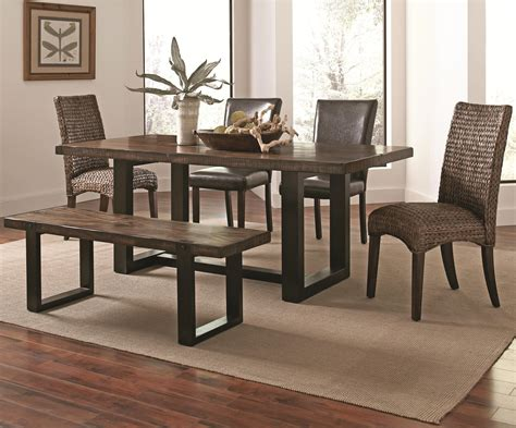 Coaster Dining Room Furniture Coaster Westbrook Dining Casual Rustic 6 Mix And Match Dining Set Dunk Bright