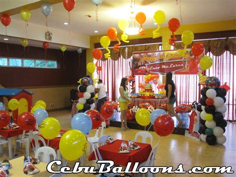 themed birthday s place balloon decoration needs cebu balloons and supplies