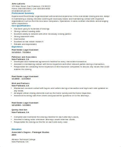 sle assistant resume 8 exles in word pdf