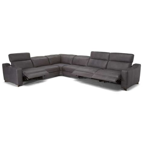 natuzzi reclining sectional sofa natuzzi editions zaccaria contemporary power reclining