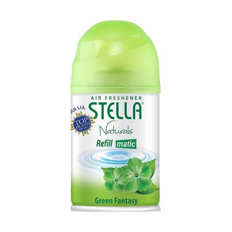 Harga Stella Pengharum Ruangan Matic by Jual Stella Matic Refill Green Fatasy Pengharum Ruangan