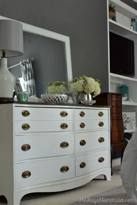 can i paint my bedroom furniture painted dresser and mirror makeover master bedroom furniture