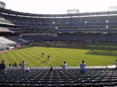 section 8 anaheim angel stadium section 237 rateyourseats com